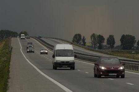 ACCIDENT pe Autostrada Soarelui. Traficul este deviat