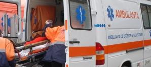 MICROBUZ RASTURNAT pe sosea: sase victime