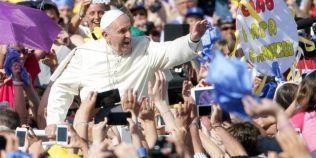 VIDEO Papa Francisc, cel mai aprig sustinator al alaptatului in public
