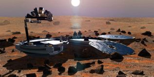 VIDEO Sonda Beagle 2 a fost regasita intacta pe Marte, la 11 ani de la disparitie