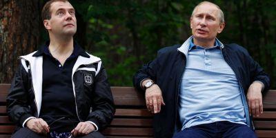 Vladimir Putin si-a redus salariul cu 10%. Taierea se aplica si functionarilor de la Kremlin
