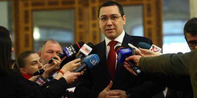 Ponta: Mi-a trecut supararea si raspund tuturor jurnalistilor, dar imi mentin ideea cu plata taxelor