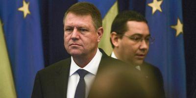 Iohannis si Ponta, fata in fata la Cotroceni. Cele trei motive care au separat Palatele