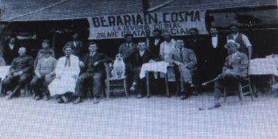 Povestile carciumilor si restaurantelor din Slatina anilor 1900. Oamenii petreceau cu totii cot la cot, indiferent de clasa sociala