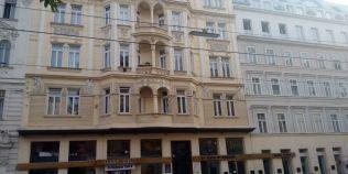 Cladirea din Viena in care poetul Mihai Eminescu a locuit prima data la inceputul studiilor sale universitare