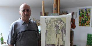 Omul care sculpteaza linoleumul. Ce este linografia, o arta pe cale de disparitie inventata pe vremea tarilor rusi