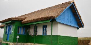Un sat pescaresc, recreat la marginea orasului Tulcea. Obiectivul turistic va avea case reprezentative din Delta