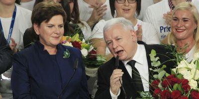 Noua putere de la Varsovia pune Europa pe jar. Conservatorii lui Kaczynski preiau controul si asupra canalelor media publice