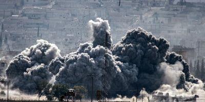 Zeci de membri ai retelei teroriste Statul Islamic, ucisi in raiduri aeriene, in estul Siriei