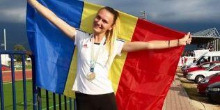Alexandra Mihai, alteta de aur a Baraganului, a ajuns campioana balcanica la triplusalt