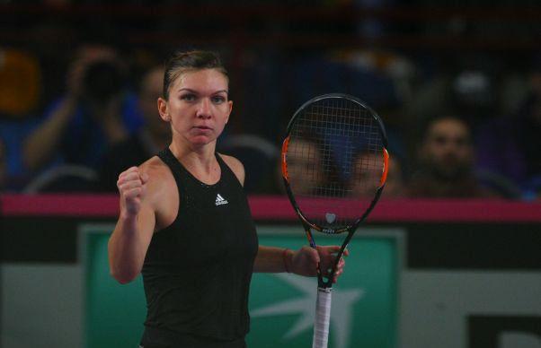 Simona Halep s-a calificat in sferturile turneului de la Montreal