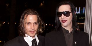 Marilyn Manson ii ia apararea lui Johnny Depp in scandalul divortului de Amber Heard: