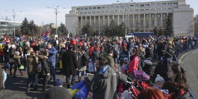LIVE VIDEO Ziua a 5-a de protest: s-a incheiat