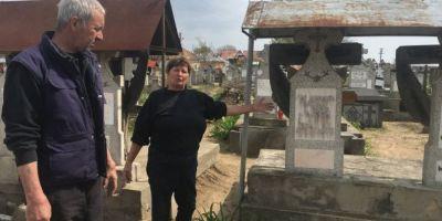 FOTO Se intampla in Romania: doua localitati s-au judecat pe un cimitir.