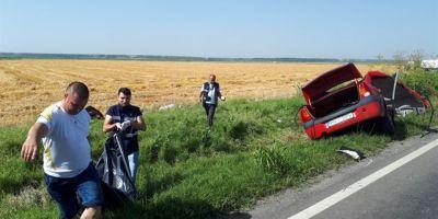 Tragedie pe o sosea din Ialomita: tata si fiu, morti intr-un grav accident rutier