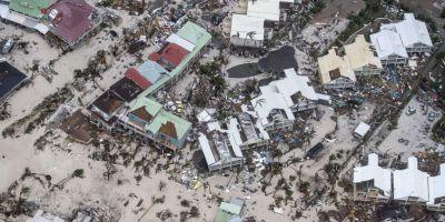 Uraganul Irma, asteptat sa loveasca Florida, a provocat pagube de 1,2 miliarde de euro pe insulele Saint-Martin si Saint-Barthelemy