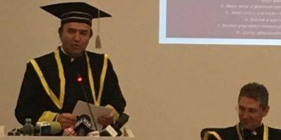Tudorel Toader, facut Doctor Honoris Causa al Universitatii din Craiova. Despre modificarea legilor Justitiei: