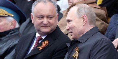 Vladimir Putin, felicitat de catre Dodon cu ocazia aniversarii a 65 de ani: Sunteti un remarcabil om de stat