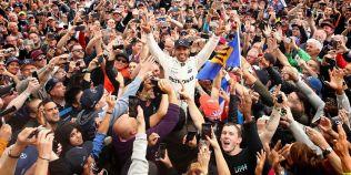 Lewis Hamilton a castigat al patrulea titlu mondial in Formula 1