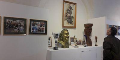 Stefan Popa Popa's, la inaugurarea muzeului sau din Timisoara: