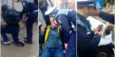 VIDEO Reactia Sindicatului Politistilor Europeni dupa ce un politist din Tulcea a fost palmuit de un localnic