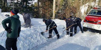 Turisti blocati pe munte, in judetul Valcea