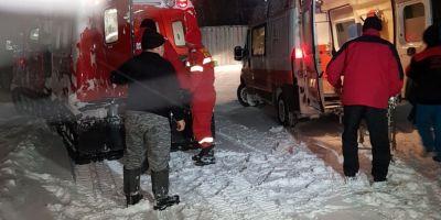 Oameni salvati cu senilata. Mai multe gravide au fost transportate la spital, iar turisti romani din Bulgaria dusi la adapost