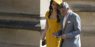 Nunta regala: oaspetii de seama. Amal Clooney si Victoria Beckham au atras toate privirile