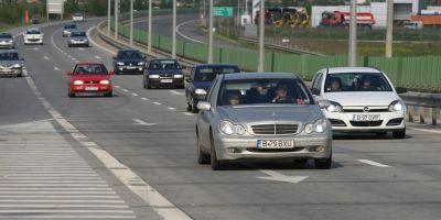 CNAIR: Au fost finalizate reparatiile la kilometrul 22 pe Autostrada Soarelui; restrictiile de circulatie se mentin
